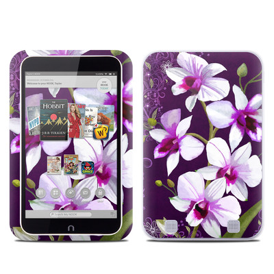 Barnes and Noble NOOK HD Tablet Skin - Violet Worlds