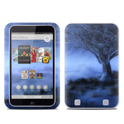 Barnes and Noble NOOK HD Tablet Skin - World's Edge Winter