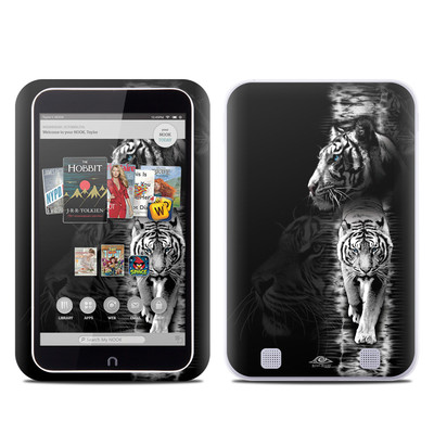 Barnes and Noble NOOK HD Tablet Skin - White Tiger