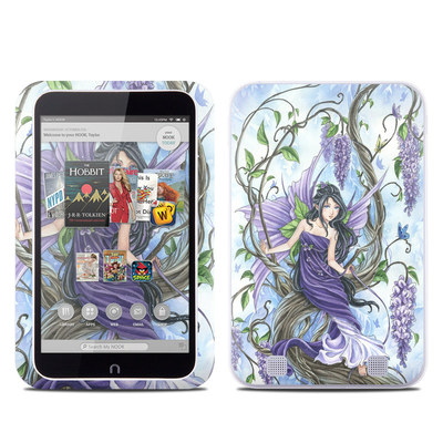 Barnes and Noble NOOK HD Tablet Skin - Wisteria