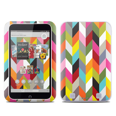 Barnes and Noble NOOK HD Tablet Skin - Ziggy Condensed