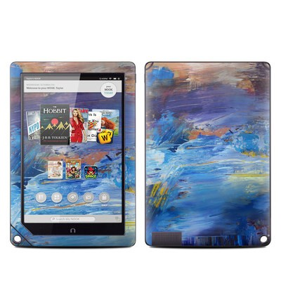 Barnes and Noble NOOK HD Plus Tablet Skin - Abyss