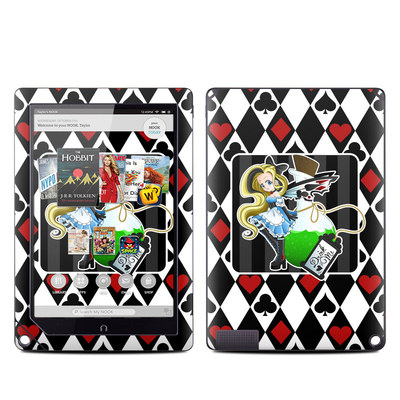 Barnes and Noble NOOK HD Plus Tablet Skin - Alice