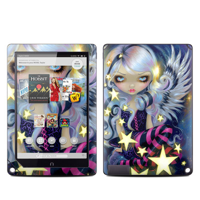 Barnes and Noble NOOK HD Plus Tablet Skin - Angel Starlight