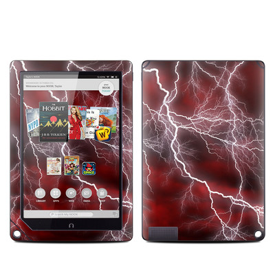 Barnes and Noble NOOK HD Plus Tablet Skin - Apocalypse Red
