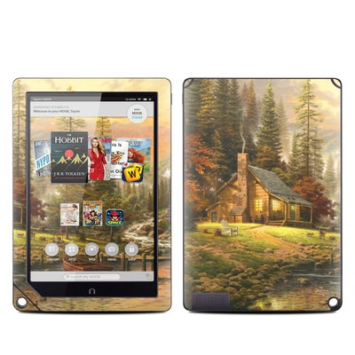 Barnes and Noble NOOK HD Plus Tablet Skin - A Peaceful Retreat