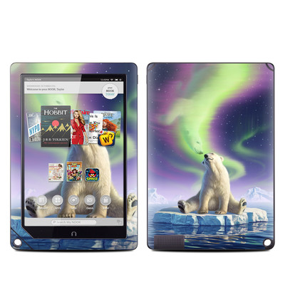 Barnes and Noble NOOK HD Plus Tablet Skin - Arctic Kiss