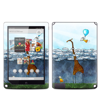 Barnes and Noble NOOK HD Plus Tablet Skin - Above The Clouds
