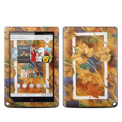 Barnes and Noble NOOK HD Plus Tablet Skin - Autumn Days