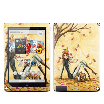 Barnes and Noble NOOK HD Plus Tablet Skin - Autumn Leaves