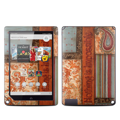 Barnes and Noble NOOK HD Plus Tablet Skin - Be Inspired