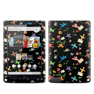Barnes and Noble NOOK HD Plus Tablet Skin - Birds