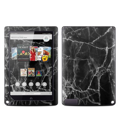 Barnes and Noble NOOK HD Plus Tablet Skin - Black Marble