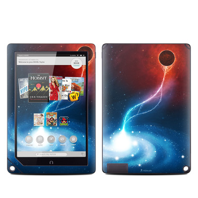 Barnes and Noble NOOK HD Plus Tablet Skin - Black Hole