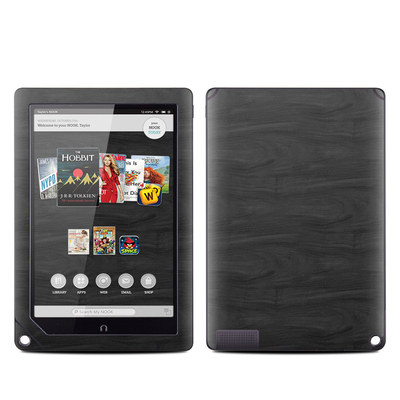 Barnes and Noble NOOK HD Plus Tablet Skin - Black Woodgrain