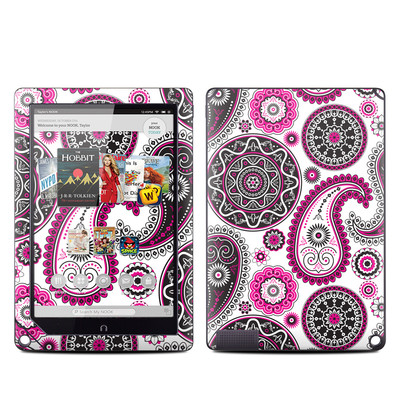 Barnes and Noble NOOK HD Plus Tablet Skin - Boho Girl Paisley