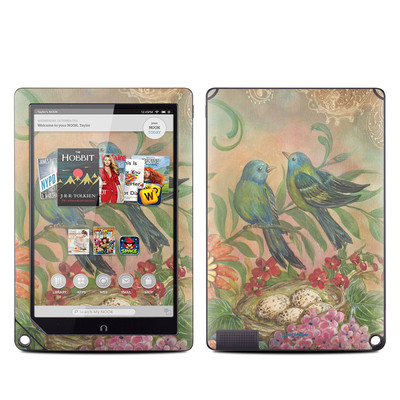 Barnes and Noble NOOK HD Plus Tablet Skin - Splendid Botanical