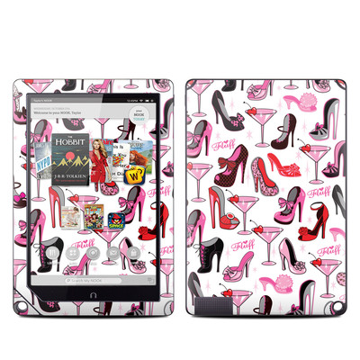 Barnes and Noble NOOK HD Plus Tablet Skin - Burly Q Shoes