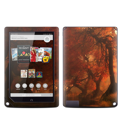 Barnes and Noble NOOK HD Plus Tablet Skin - Canopy Creek Autumn
