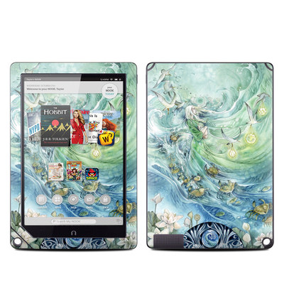Barnes and Noble NOOK HD Plus Tablet Skin - Cancer