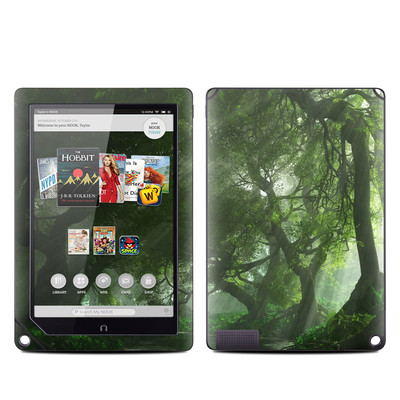 Barnes and Noble NOOK HD Plus Tablet Skin - Canopy Creek Spring