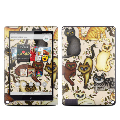 Barnes and Noble NOOK HD Plus Tablet Skin - Cats