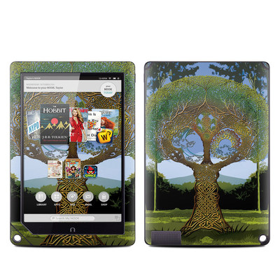Barnes and Noble NOOK HD Plus Tablet Skin - Celtic Tree