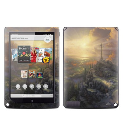 Barnes and Noble NOOK HD Plus Tablet Skin - The Cross