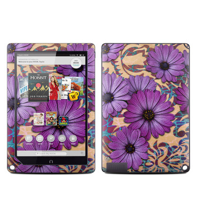 Barnes and Noble NOOK HD Plus Tablet Skin - Daisy Damask