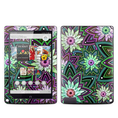Barnes and Noble NOOK HD Plus Tablet Skin - Daisy Trippin