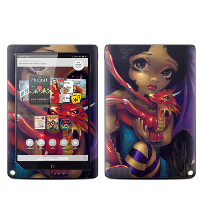 Barnes and Noble NOOK HD Plus Tablet Skin - Darling Dragonling