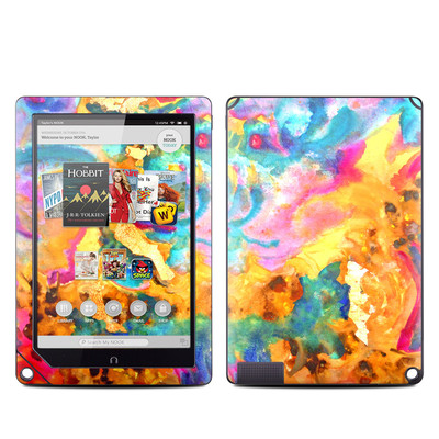 Barnes and Noble NOOK HD Plus Tablet Skin - Dawn Dance