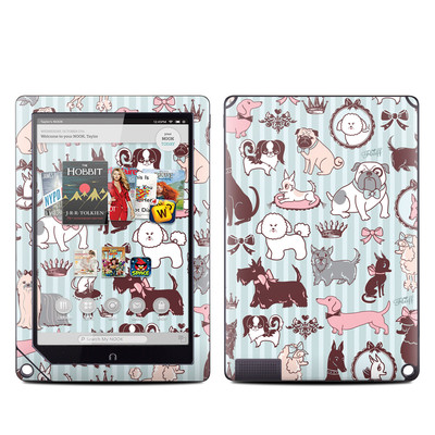 Barnes and Noble NOOK HD Plus Tablet Skin - Doggy Boudoir