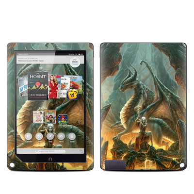 Barnes and Noble NOOK HD Plus Tablet Skin - Dragon Mage