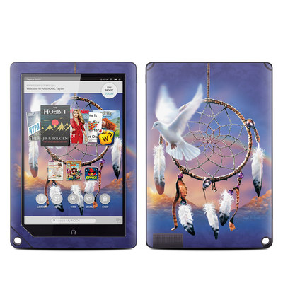 Barnes and Noble NOOK HD Plus Tablet Skin - Dove Dreamer