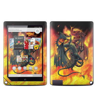 Barnes and Noble NOOK HD Plus Tablet Skin - Dragon Wars
