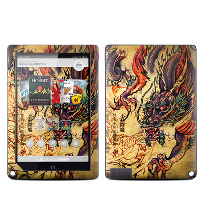 Barnes and Noble NOOK HD Plus Tablet Skin - Dragon Legend
