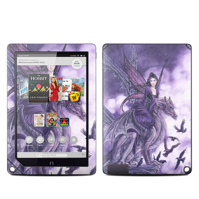 Barnes and Noble NOOK HD Plus Tablet Skin - Dragon Sentinel