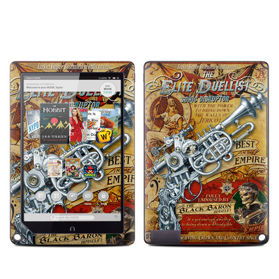 Barnes and Noble NOOK HD Plus Tablet Skin - The Duelist