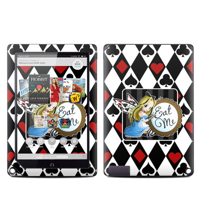 Barnes and Noble NOOK HD Plus Tablet Skin - Eat Me