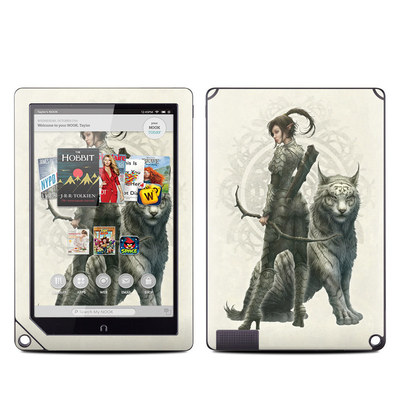 Barnes and Noble NOOK HD Plus Tablet Skin - Half Elf Girl