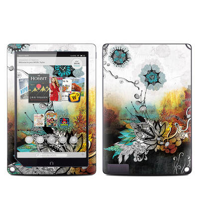 Barnes and Noble NOOK HD Plus Tablet Skin - Frozen Dreams