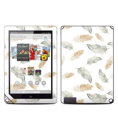 Barnes and Noble NOOK HD Plus Tablet Skin - Feathers