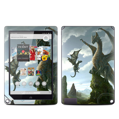 Barnes and Noble NOOK HD Plus Tablet Skin - First Lesson