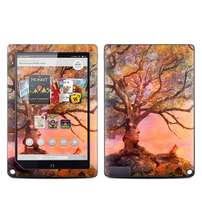 Barnes and Noble NOOK HD Plus Tablet Skin - Fox Sunset