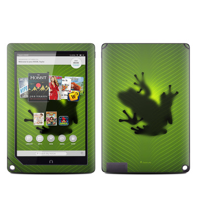 Barnes and Noble NOOK HD Plus Tablet Skin - Frog
