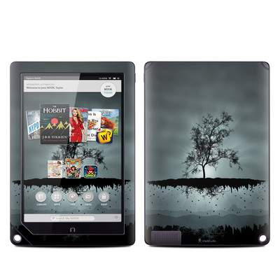 Barnes and Noble NOOK HD Plus Tablet Skin - Flying Tree Black