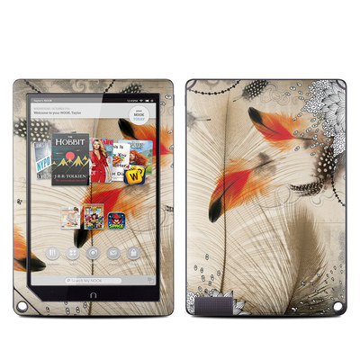 Barnes and Noble NOOK HD Plus Tablet Skin - Feather Dance