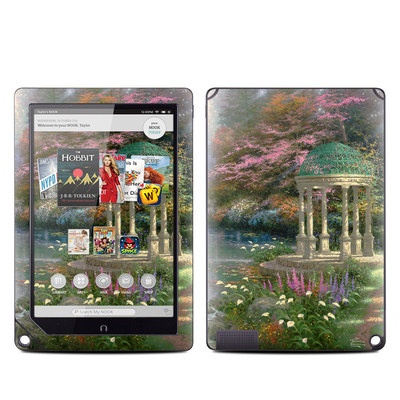 Barnes and Noble NOOK HD Plus Tablet Skin - Garden Of Prayer