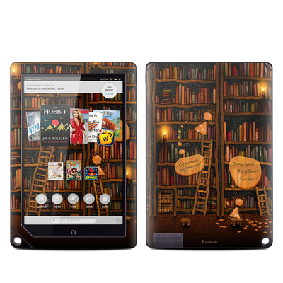 Barnes and Noble NOOK HD Plus Tablet Skin - Google Data Center